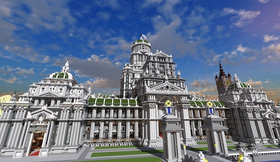 Imperial City Map For Minecraft