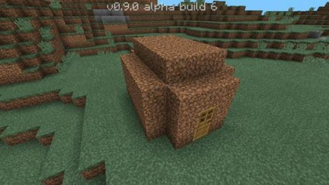 Survival in Minecraft PE 0.9.0