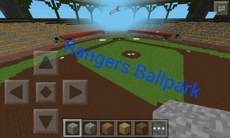 Map «Rangers Ballpark»