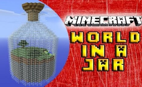World in a Jar Map for Minecraft