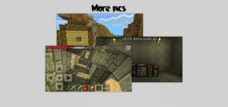 Shader texture pack for Minecraft PE 0.9.5