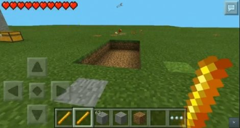Mod Instahome for Minecraft PE 0.9.5 - built a second! [0.9.5]