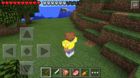 How to play the Hunger Games in Minecraft PE 0.9.x
