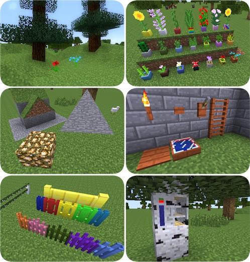 Buildings Using Unusual Minecraft Blocks