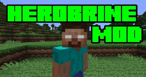 Herobrine Mod for Minecraft 1.7.10