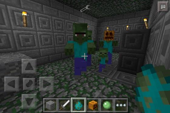Minecraft PE MORE ZOMBIES MOD - Skins para minecraft pe zombie