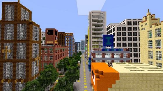 Minecraft Pe Seeds With Buildings Already Built