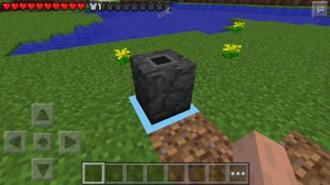 The Bin mod for Minecraft Pocket Edition 0.9.5
