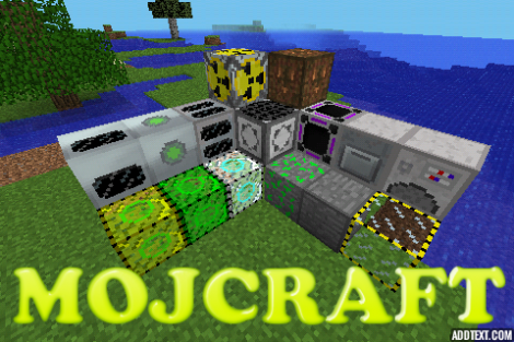 MOJCRAFT - mod for Minecraft PE