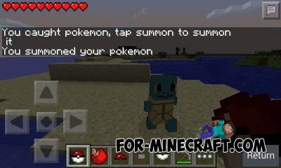 You can catch up to 6 different Pokémon. The mod is using a slot system  which can be accessed by the text chat.