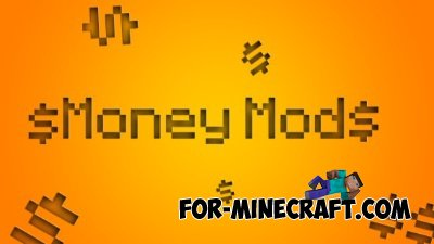 Money mod for Minecraft PE 0.9.5, 0.10.0