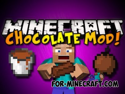 Chocolate stuff mod for Minecraft PE 0.10.0