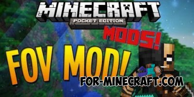 FOV mod for Minecraft PE 0.10.0