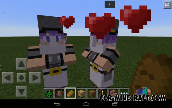 Cute Villagers Mod For Minecraft PE - Villager skin fur minecraft pe