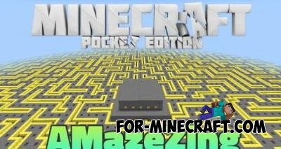 Maze Map for Minecraft Pocket Edition 0.10.0
