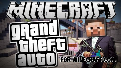 GTA San Andreas mod v2.8 for Minecraft PE 0.9.5