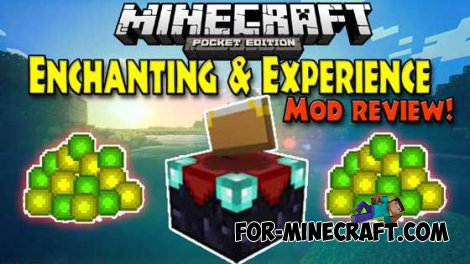 Enchanting & Experience mod - Experience and enchantment in MCPE 0.9.5 / 0.10.0