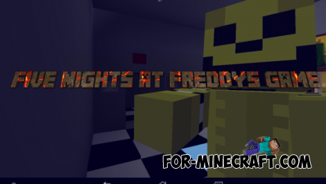 Five Night At Freddys map for Minecraft PE 0.10.0