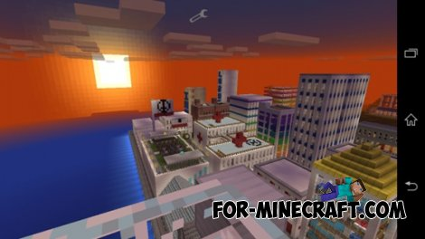 City of Democratia map for Minecraft Pocket Edition