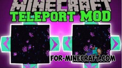 Teleport Pad for Minecraft PE 0.10.4