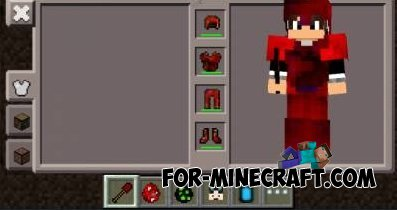 Curium mod for Minecraft PE 0.10.4