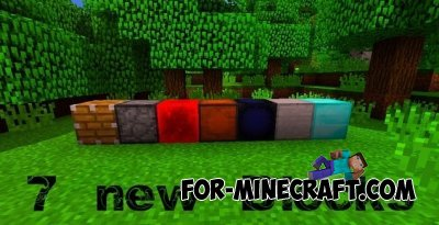 New Desing Blocks mod for Minecraft Pocket Edition 0.10.4