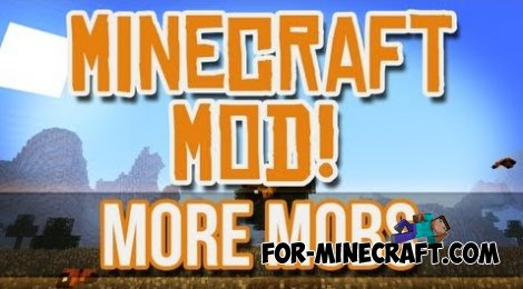 NEWMOBS mod for Minecraft PE 0.10.4