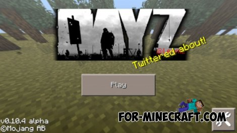 DayZ texture for Minecraft Pocket Edition 0.10.4
