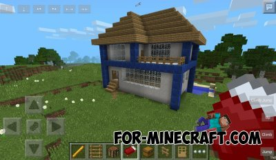 HomeSurvival map for Minecraft PE 0.10.4