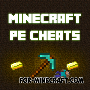 Cheat pack for Minecraft Pocket Edition 0.10.5