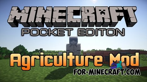 Agriculture mod for Minecraft Pocket Edition 0.10.4