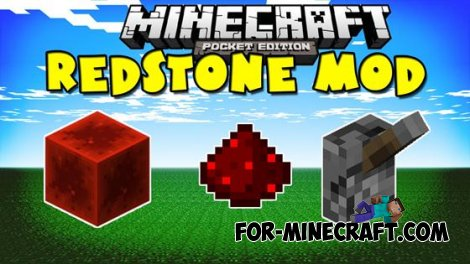 Redstone mod! for Minecraft Pocket Edition 0.10.4
