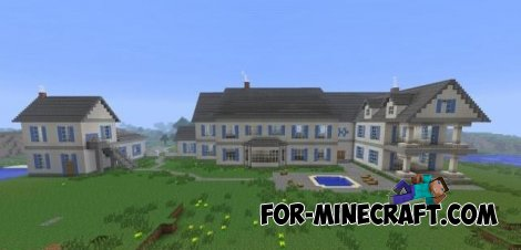 Big house for MCPE 0.10.5