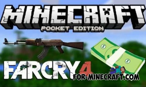 FarCry 4 mod for Minecraft Pocket Edition 0.10.5