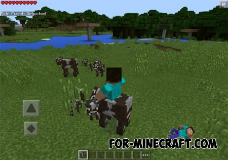 Powerful Fists for Minecraft PE 0.10.5