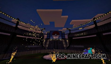 Firework v2 mod for Minecraft Pocket Edition 0.10.5