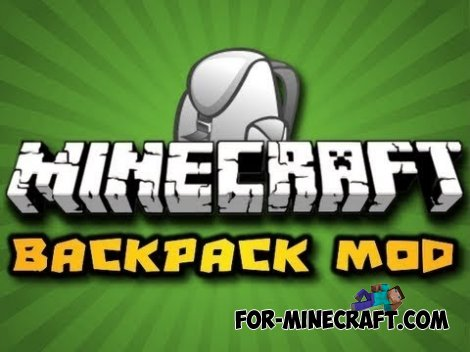 BackPack mod for Minecraft Pocket Edition 0.10.5