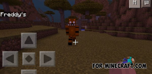 Five Nights At Freddys Mod For Minecraft PE - Skins para minecraft pe five nights at freddys
