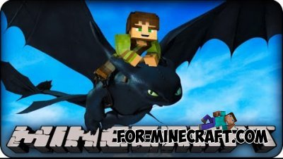 Dragons mod for Minecraft PE 0.10.5