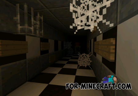 Five Nights At Freddy map for MCPE 0.10.X