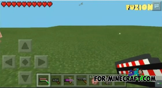 how to download the gun mod in minecraft pe
