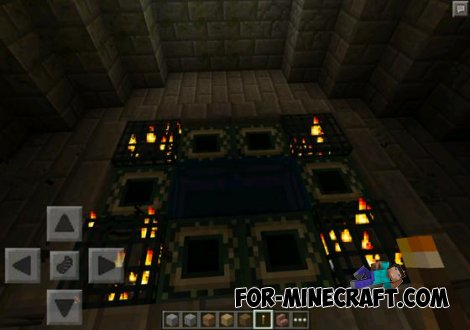 Legend of Herobrine map for Minecraft PE 0.10.5