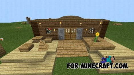 Carpenter's Blocks mod for Minecraft PE 0.10.5