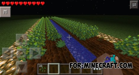 Drugs mod for Minecraft PE 0.10.5