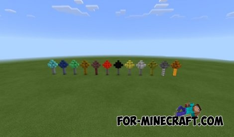 Mo 'Tree mod for Minecraft PE 0.10.5