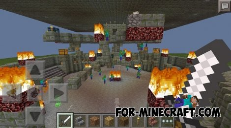 Dungeon Death map for Minecraft PE 0.10.5