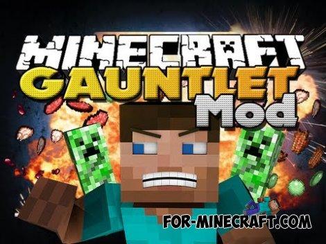 Creeper Gauntlet PE Mod for Minecraft PE 0.10.5