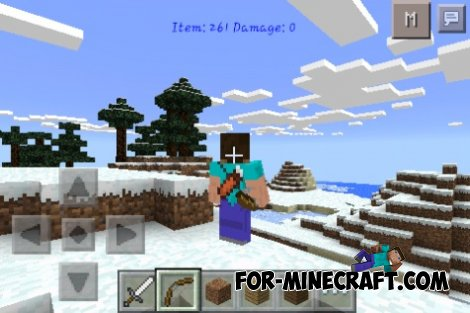 Back Item mod for MCPE 0.10.5