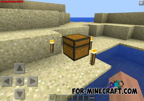 Bonus Chest mod for Minecraft Pocket Edition 0.10.5