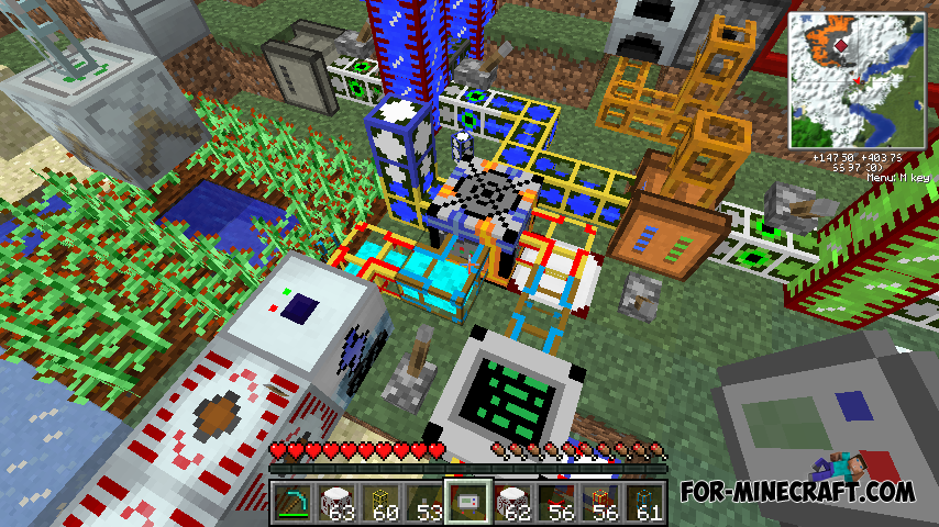 Industrial Craft 2 mod for Minecraft 1.7.10